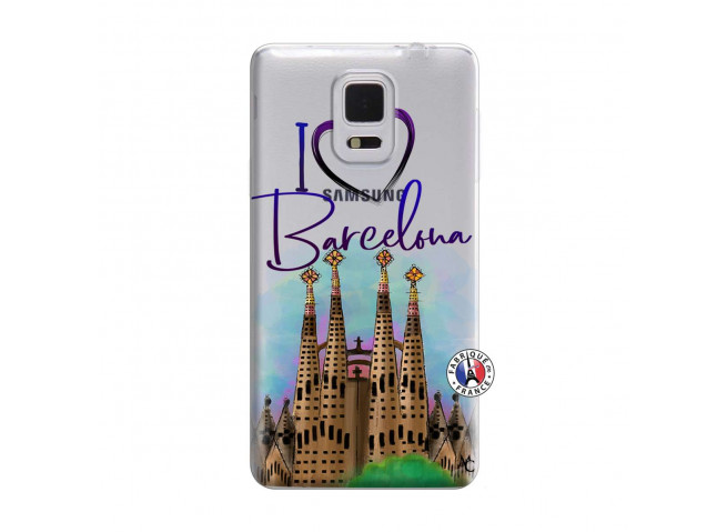 Coque Samsung Galaxy Note Edge I Love Barcelona