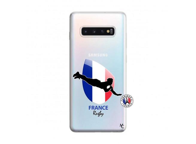 Coque Samsung Galaxy S10 Plus Coupe du Monde de Rugby-France