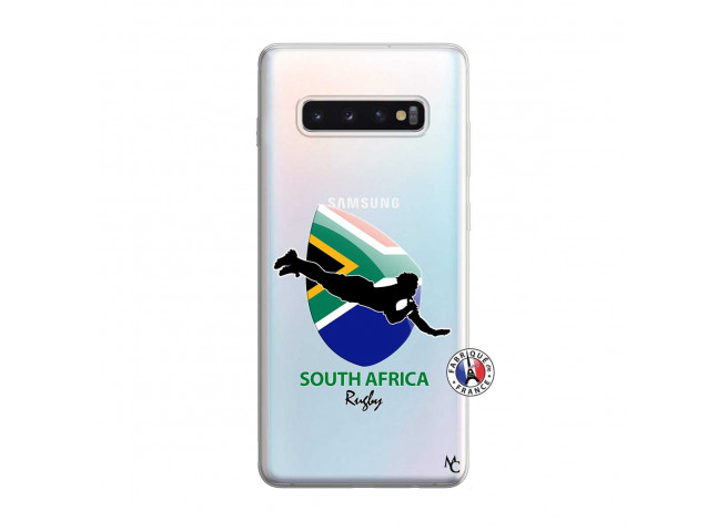 Coque Samsung Galaxy S10 Plus Coupe du Monde Rugby-South Africa