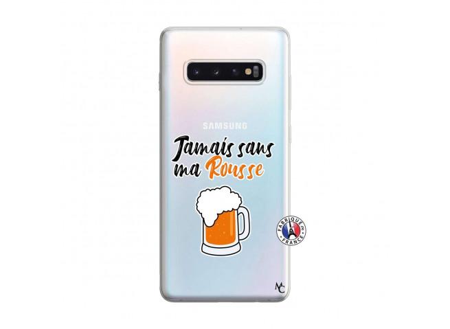 Coque Samsung Galaxy S10 Plus Jamais Sans Ma Rousse