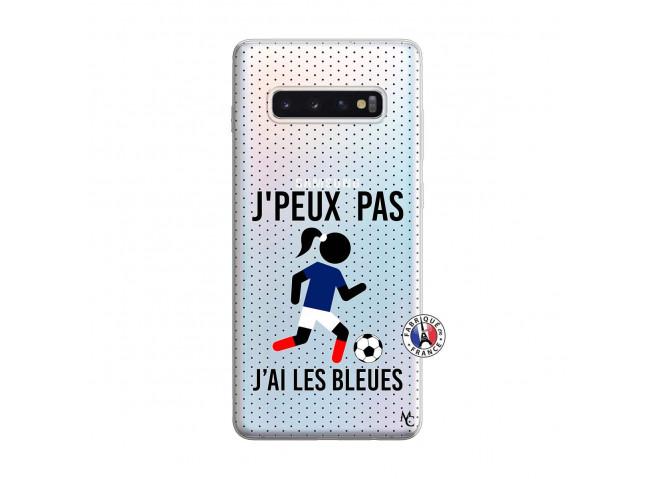Coque Samsung Galaxy S10 Plus Je Peux Pas J Ai Les Bleues Maillot
