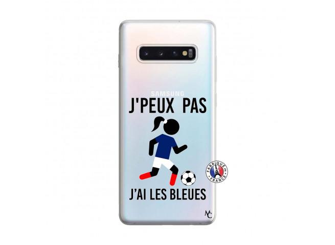 Coque Samsung Galaxy S10 Plus Je Peux Pas J Ai Les Bleues