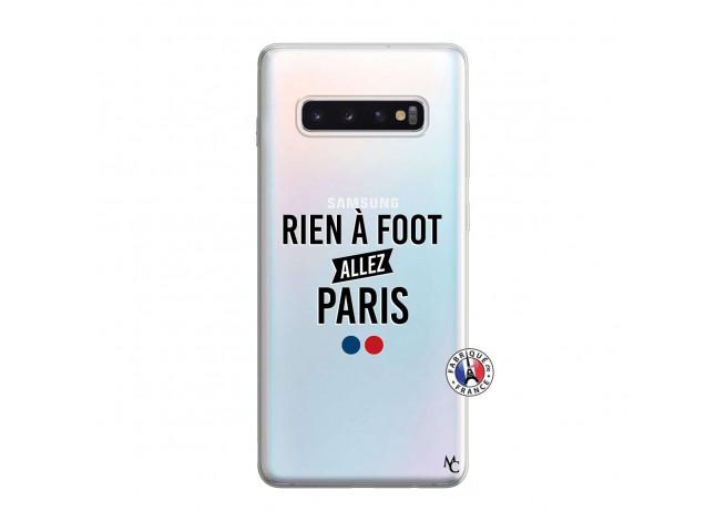 Coque Samsung Galaxy S10 Plus Rien A Foot Allez Paris