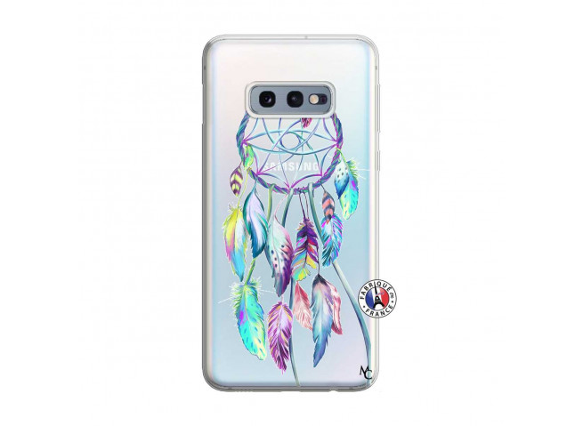 Coque Samsung Galaxy S10E Blue Painted Dreamcatcher