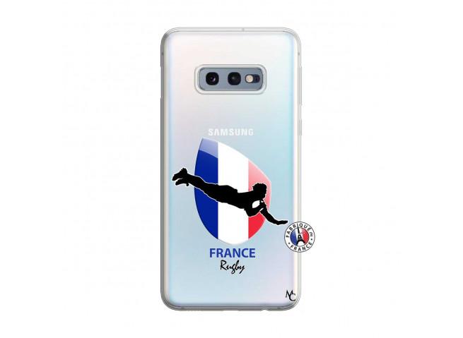 Coque Samsung Galaxy S10E Coupe du Monde de Rugby-France