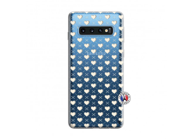 Coque Samsung Galaxy S10 Little Hearts