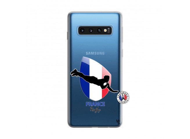 Coque Samsung Galaxy S10 Coupe du Monde de Rugby-France