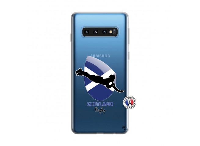 Coque Samsung Galaxy S10 Coupe du Monde Rugby-Scotland