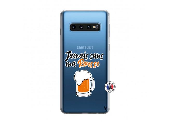 Coque Samsung Galaxy S10 Jamais Sans Ma Rousse