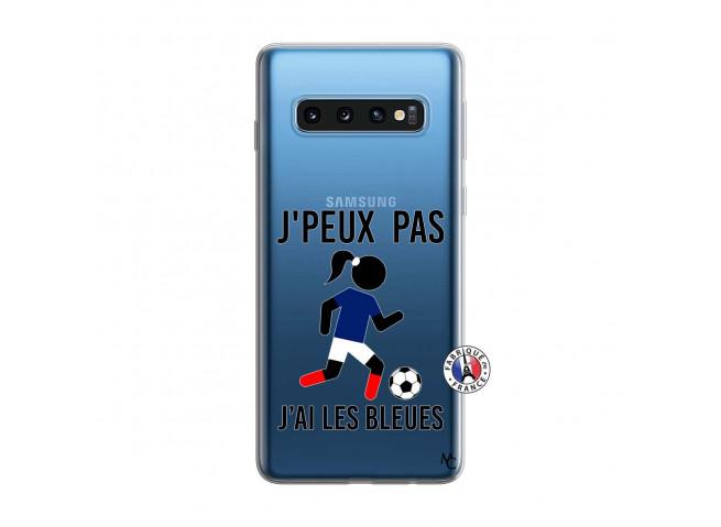 Coque Samsung Galaxy S10 Je Peux Pas J Ai Les Bleues