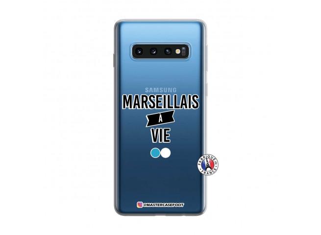 Coque Samsung Galaxy S10 Marseillais à Vie