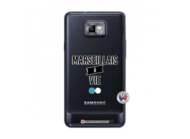 Coque Samsung Galaxy S2 Marseillais à Vie