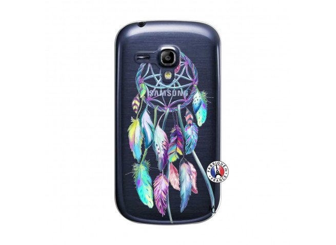 Coque Samsung Galaxy S3 Mini Blue Painted Dreamcatcher