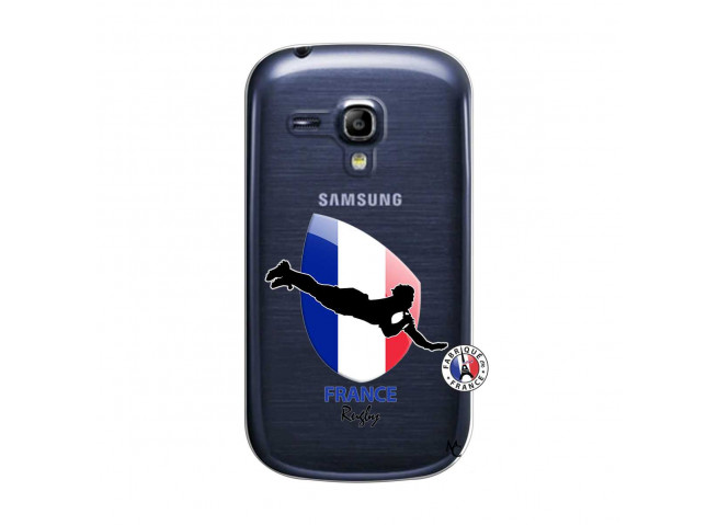 Coque Samsung Galaxy S3 Mini Coupe du Monde de Rugby-France
