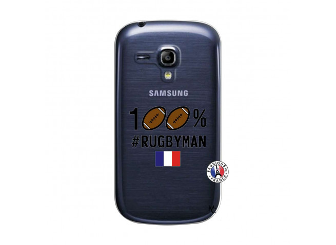 Coque Samsung Galaxy S3 Mini 100% Rugbyman