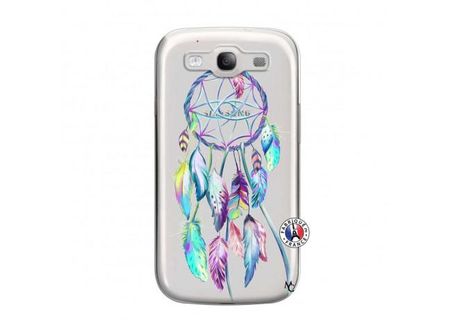 Coque Samsung Galaxy S3 Blue Painted Dreamcatcher