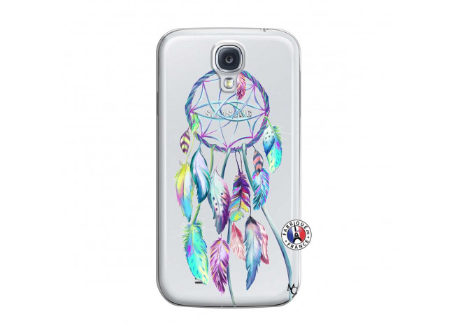 Coque Samsung Galaxy S4 Blue Painted Dreamcatcher