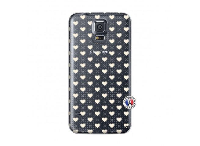 Coque Samsung Galaxy S5 Mini Little Hearts