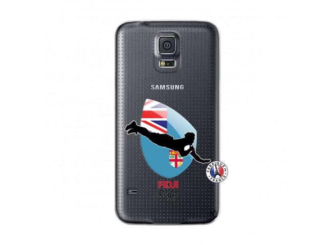 Coque Samsung Galaxy S5 Mini Coupe du Monde Rugby Fidji