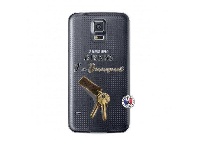 Coque Samsung Galaxy S5 Mini Je peux pas j'ai déménagement