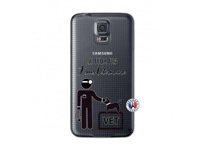Coque Samsung Galaxy S5 Mini Je Peux Pas Je Suis Veterinaire
