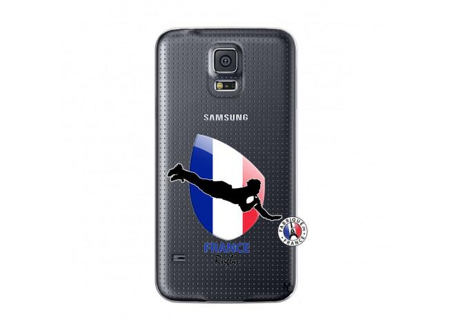 Coque Samsung Galaxy S5 Coupe du Monde de Rugby-France