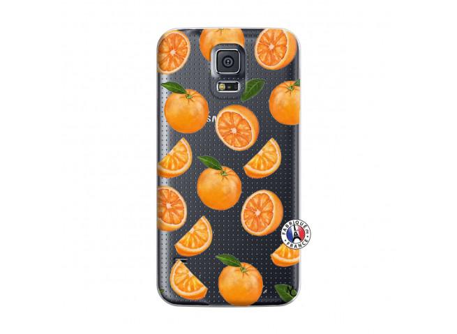 Coque Samsung Galaxy S5 Orange Gina