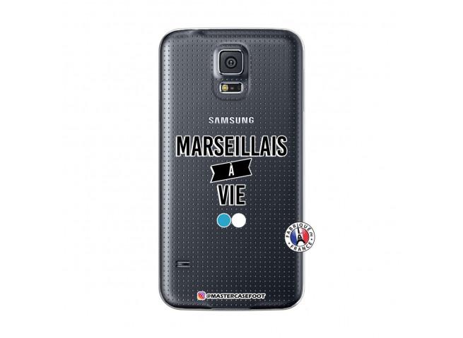 Coque Samsung Galaxy S5 Marseillais à Vie