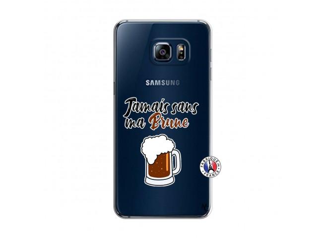 Coque Samsung Galaxy S6 Edge Plus Jamais Sans Ma Brune