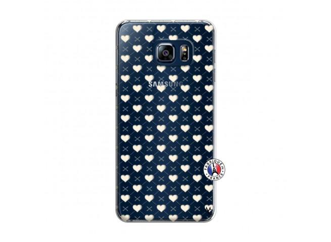 Coque Samsung Galaxy S6 Edge Little Hearts