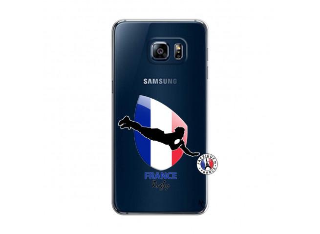 Coque Samsung Galaxy S6 Edge Coupe du Monde de Rugby-France