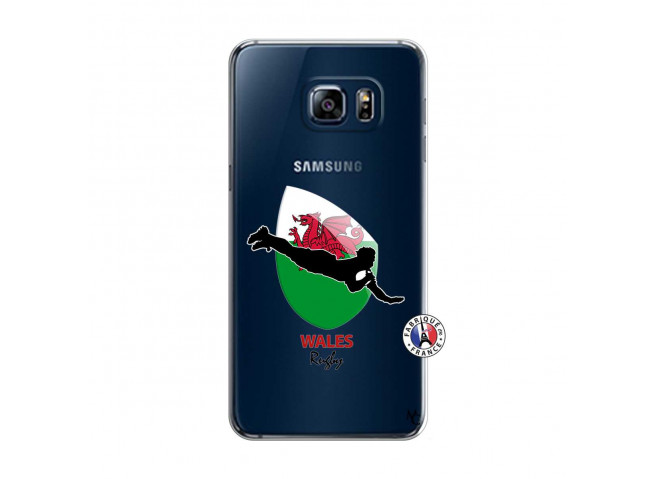 Coque Samsung Galaxy S6 Edge Coupe du Monde Rugby-Walles