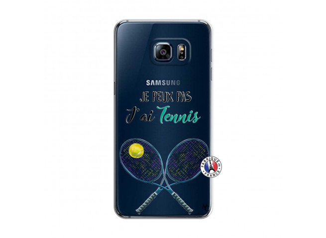 Coque Samsung Galaxy S6 Edge Je Peux Pas J Ai Tennis