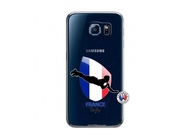 Coque Samsung Galaxy S6 Coupe du Monde de Rugby-France