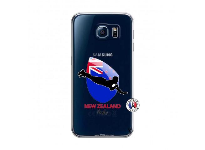 Coque Samsung Galaxy S6 Coupe du Monde Rugby- Nouvelle Zélande