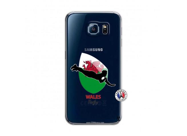 Coque Samsung Galaxy S6 Coupe du Monde Rugby-Walles