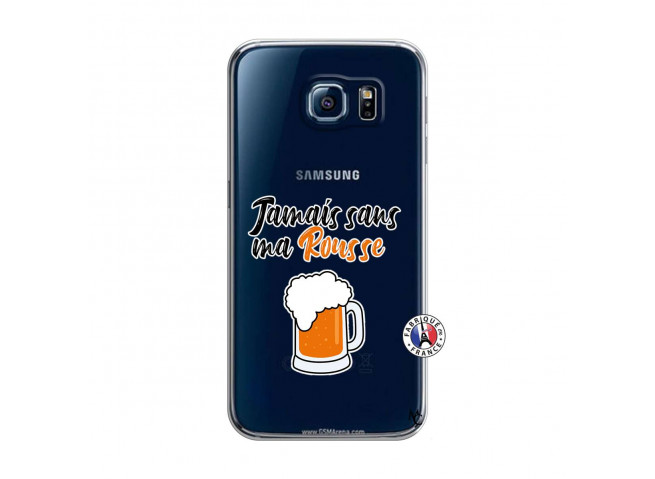 Coque Samsung Galaxy S6 Jamais Sans Ma Rousse