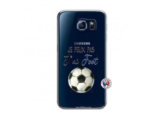 Coque Samsung Galaxy S6 Je peux pas j'ai Foot
