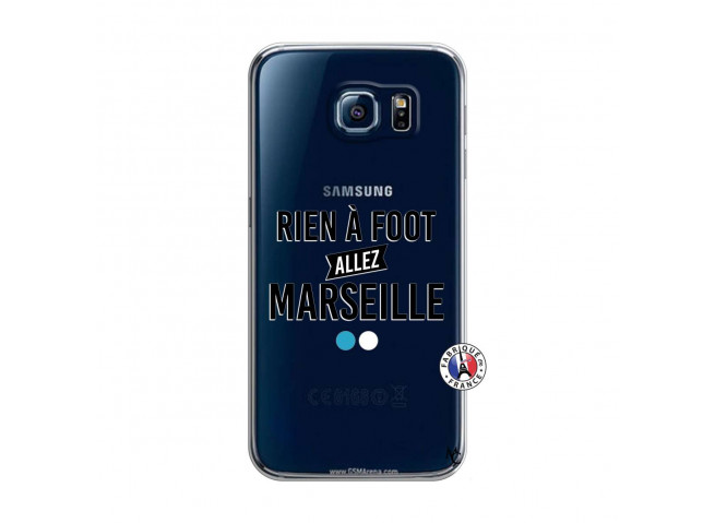 Coque Samsung Galaxy S6 Rien A Foot Allez Marseille