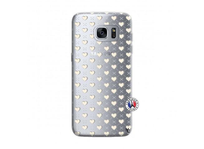 Coque Samsung Galaxy S7 Edge Little Hearts