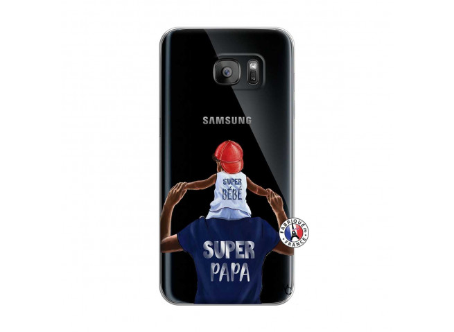 Coque Samsung Galaxy S7 Edge Papa Super Heros