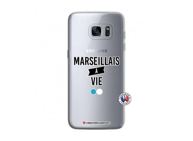 Coque Samsung Galaxy S7 Marseillais à Vie