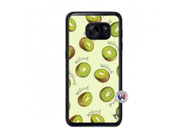 Coque Samsung Galaxy S7 Sorbet Kiwi Translu