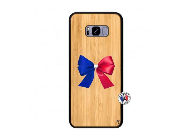 Coque Bois Galaxy S8 Plus Allez Les Bleues