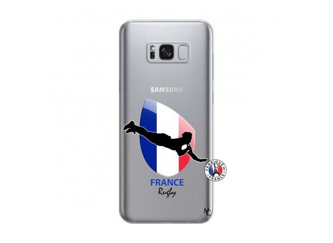 Coque Samsung Galaxy S8 Plus Coupe du Monde de Rugby-France