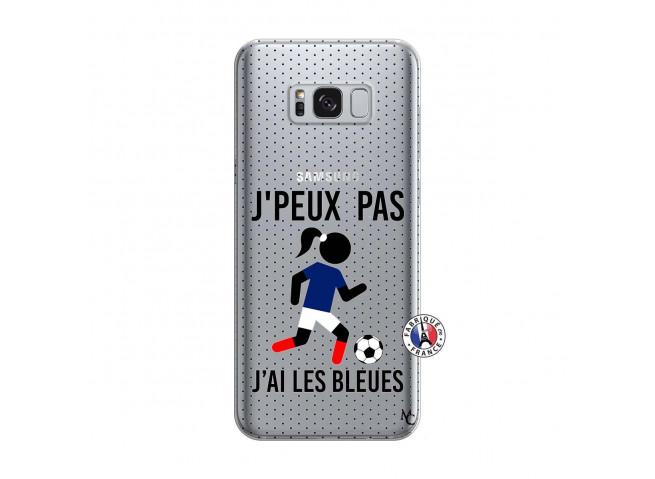 Coque Samsung Galaxy S8 Plus Je Peux Pas J Ai Les Bleues Maillot