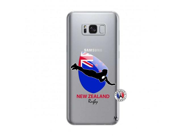 Coque Samsung Galaxy S8 Coupe du Monde Rugby- Nouvelle Zélande