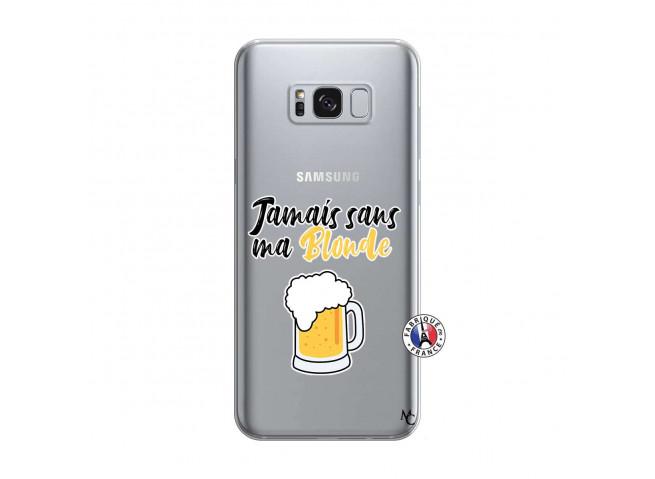 Coque Samsung Galaxy S8 Jamais Sans Ma Blonde