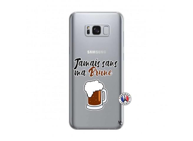 Coque Samsung Galaxy S8 Jamais Sans Ma Brune