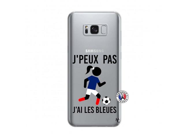 Coque Samsung Galaxy S8 Je Peux Pas J Ai Les Bleues